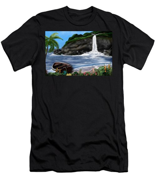 Meet Me At The Beach Men's T-Shirt (Athletic Fit)