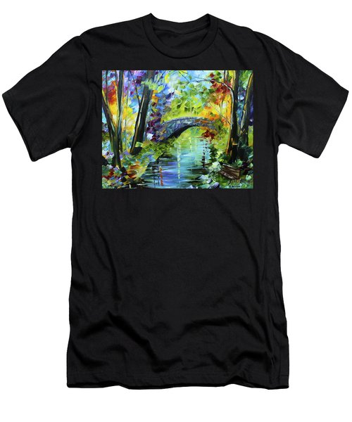 Megan's Bridge Men's T-Shirt (Athletic Fit)