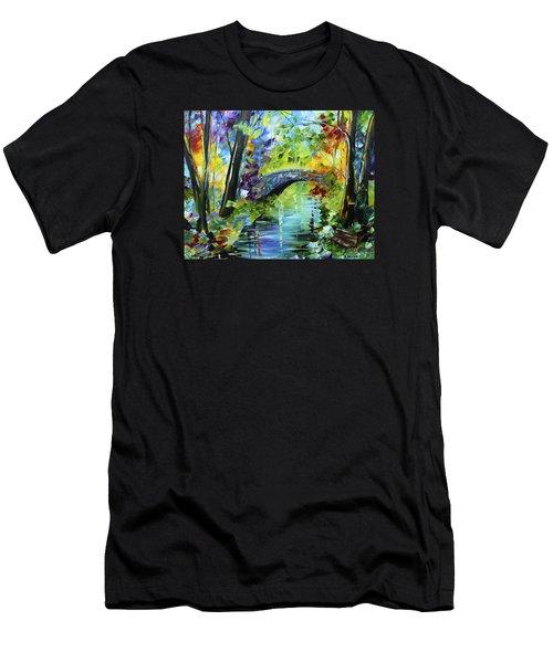 Megan's Bridge Men's T-Shirt (Athletic Fit)