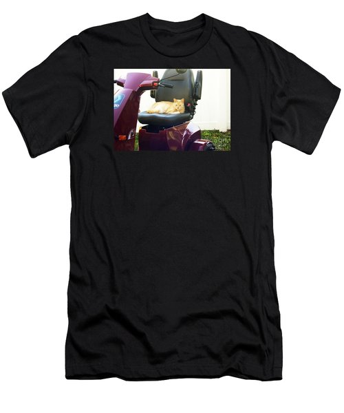 Men's T-Shirt (Slim Fit) featuring the photograph Mego And Erick 2 by Megan Dirsa-DuBois