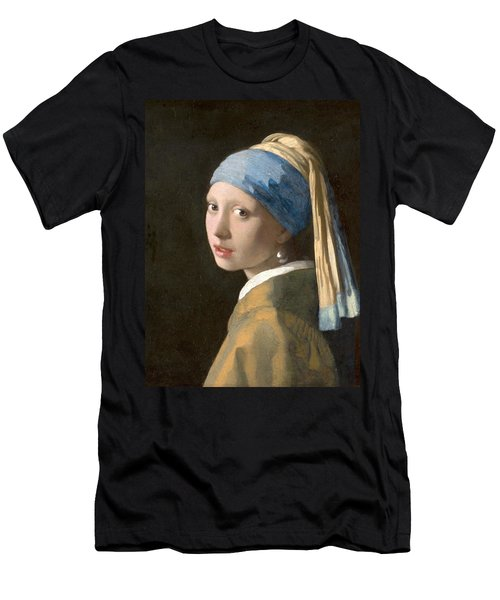 Meisje Met De Parel Men's T-Shirt (Athletic Fit)