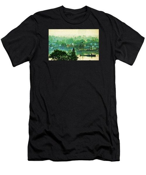 Mekong Morning Men's T-Shirt (Athletic Fit)