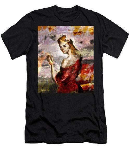 Melancholia II Men's T-Shirt (Athletic Fit)