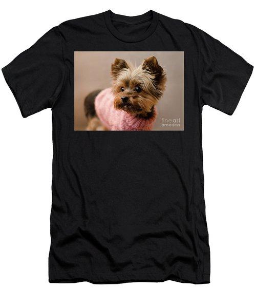 Melanie In Pink Mohair  Men's T-Shirt (Athletic Fit)
