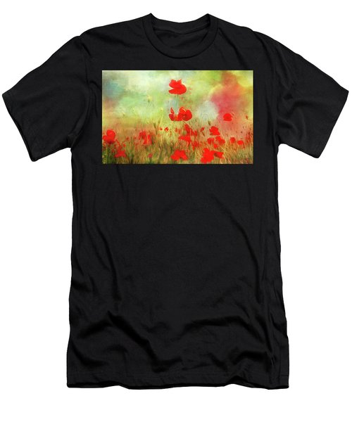 Melody Of Summer Men's T-Shirt (Athletic Fit)