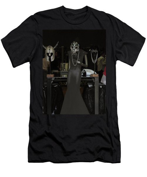 Men's T-Shirt (Slim Fit) featuring the photograph Melrose Avenue Witty Stile by Viktor Savchenko