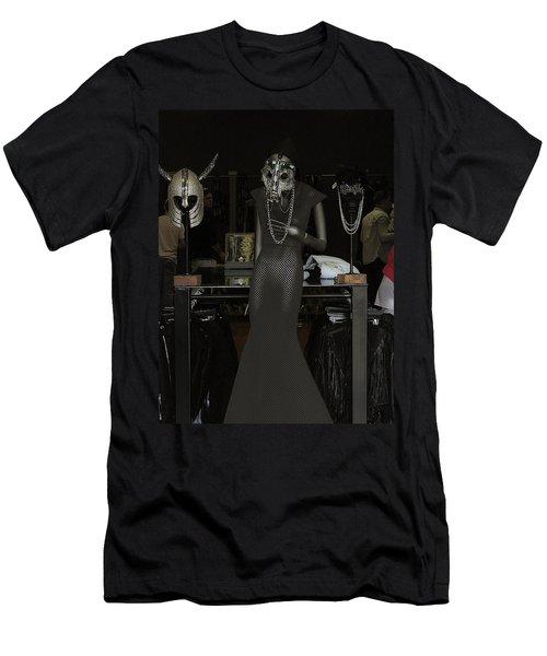 Melrose Avenue Witty Stile Men's T-Shirt (Slim Fit) by Viktor Savchenko