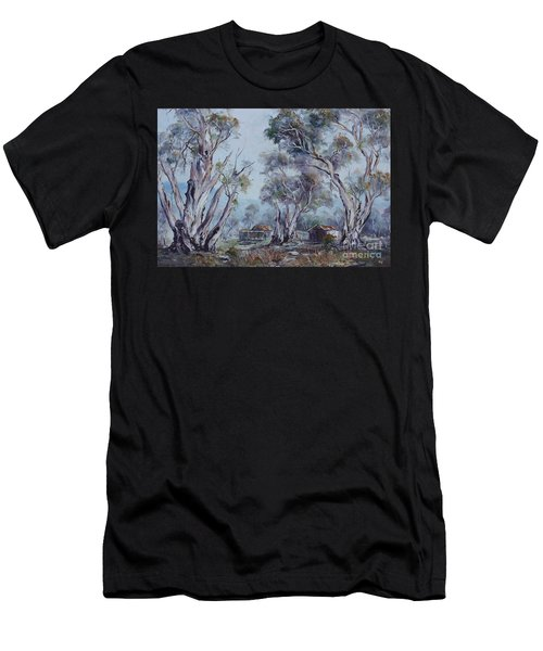 Men's T-Shirt (Athletic Fit) featuring the painting Melrose, South Australia by Ryn Shell