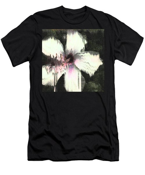 Melting Hibiscus Men's T-Shirt (Athletic Fit)