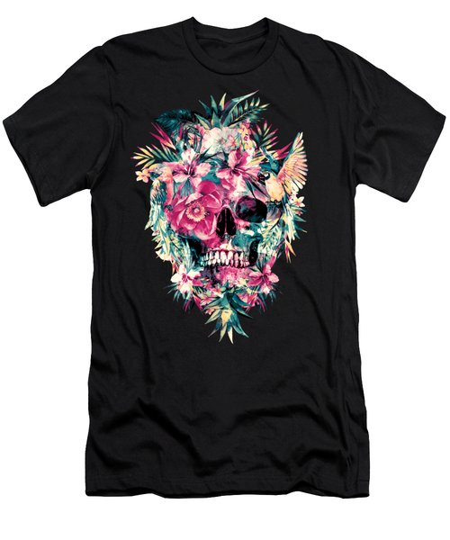 Memento Mori Men's T-Shirt (Slim Fit) by Riza Peker
