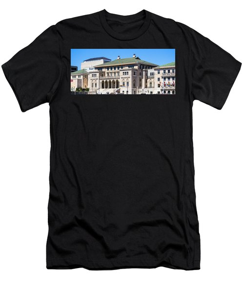 Memorial Union - Madison, Wisconsin Men's T-Shirt (Athletic Fit)