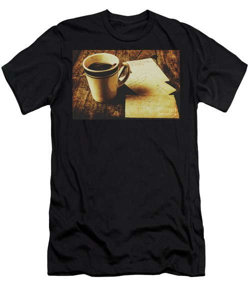 Memories And Past Notes Men's T-Shirt (Athletic Fit)