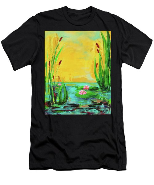 Memories Of The Lake Men's T-Shirt (Athletic Fit)