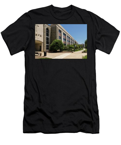 Men's T-Shirt (Athletic Fit) featuring the photograph Mendel Hall by William Norton