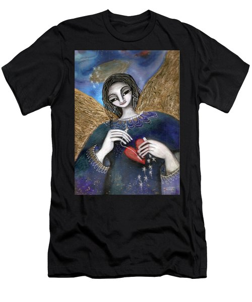 Mender Of Hearts Angel Men's T-Shirt (Athletic Fit)
