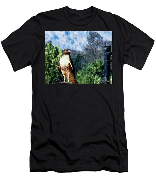 Menifee Falcon Men's T-Shirt (Athletic Fit)
