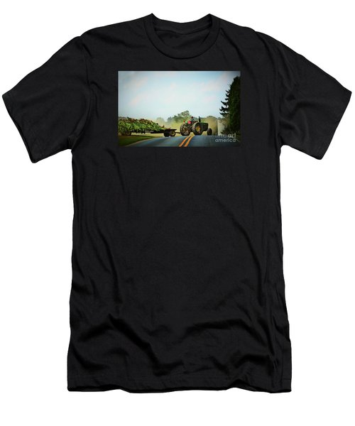 Menonnite Tobacco Farmer And Wife Men's T-Shirt (Athletic Fit)
