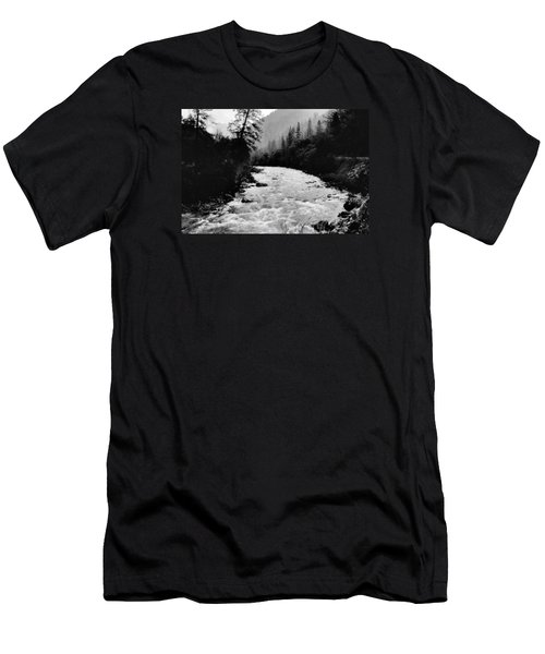 Merced River Canyon Men's T-Shirt (Athletic Fit)