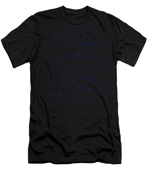 Mercy Sports Car Silhouettehistory Men's T-Shirt (Athletic Fit)