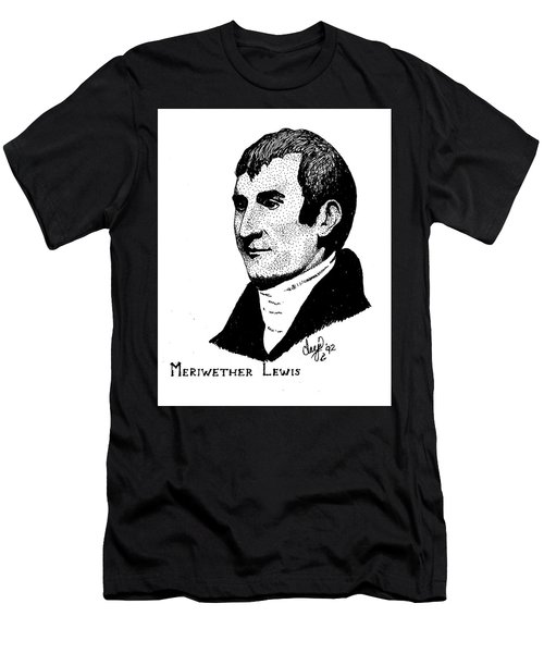 Meriwether Lewis Men's T-Shirt (Athletic Fit)