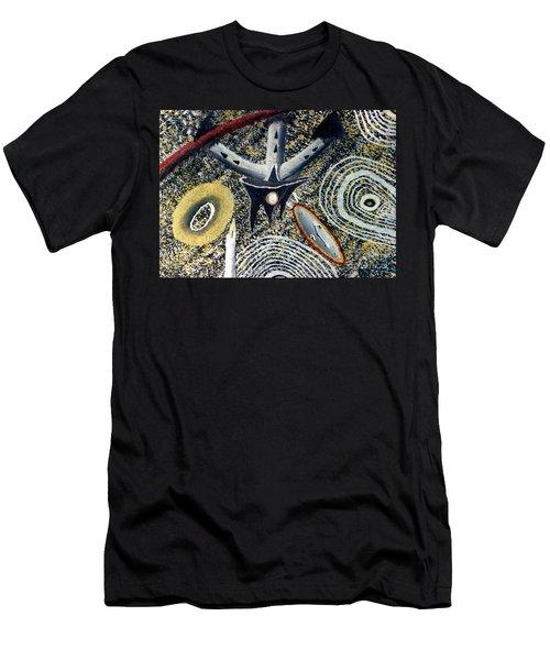 Merkavah Castle Men's T-Shirt (Slim Fit) by Luke Galutia