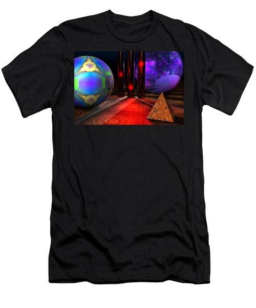 Merlin's Playground Men's T-Shirt (Slim Fit) by Lyle Hatch