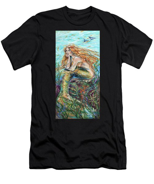 Mermaid Contemplating Men's T-Shirt (Athletic Fit)