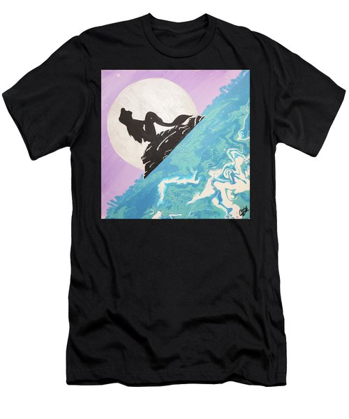 Mermaid Men's T-Shirt (Slim Fit) by Cyrionna The Cyerial Artist