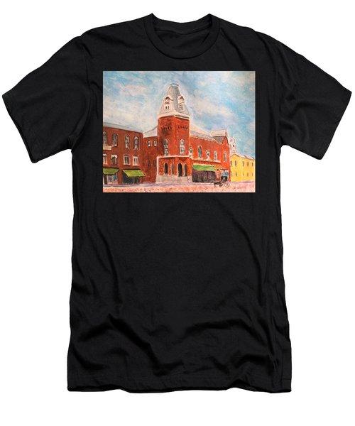 Merrimac Massachusetts Men's T-Shirt (Athletic Fit)