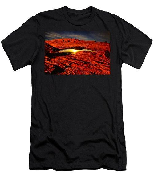 Mesa Arch Moonshine Men's T-Shirt (Athletic Fit)
