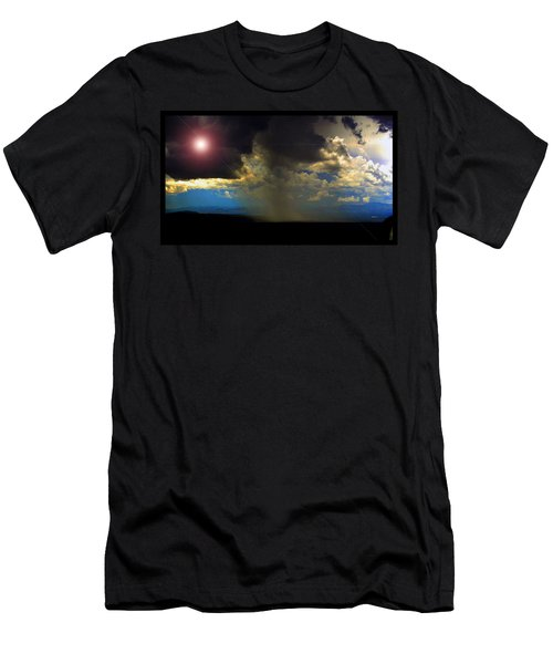 Mesa Thunderstorm Vistas Men's T-Shirt (Slim Fit) by Susanne Still