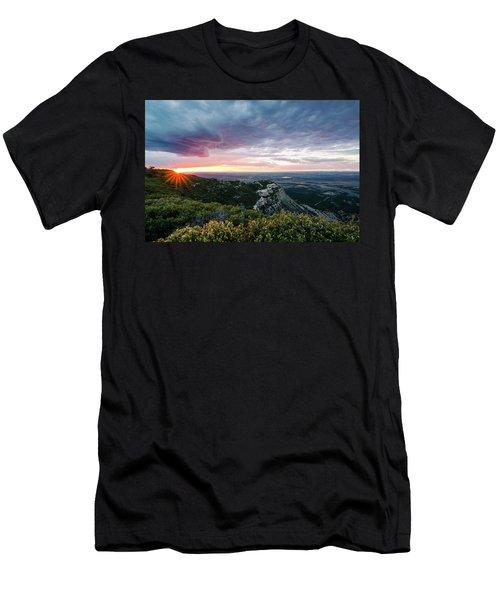 Mesa Verde Sunset Men's T-Shirt (Athletic Fit)