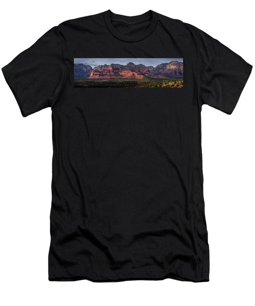Mescal Mountain Panorama Men's T-Shirt (Athletic Fit)