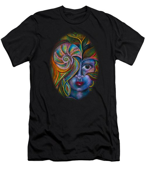 Mesmerize Men's T-Shirt (Slim Fit) by Deborha Kerr