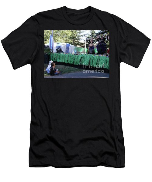 Men's T-Shirt (Athletic Fit) featuring the photograph Mesmerized By Those Bellies by Cynthia Marcopulos