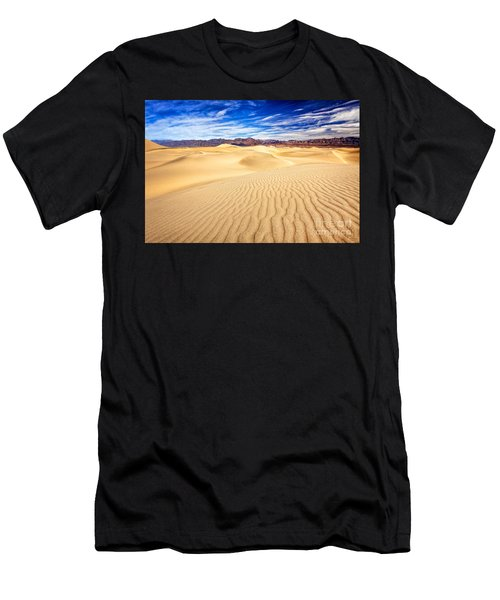 Mesquite Flat Sand Dunes In Death Valley Men's T-Shirt (Athletic Fit)