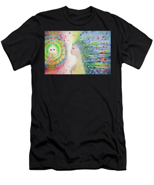 Messenger Of Hope  Men's T-Shirt (Athletic Fit)