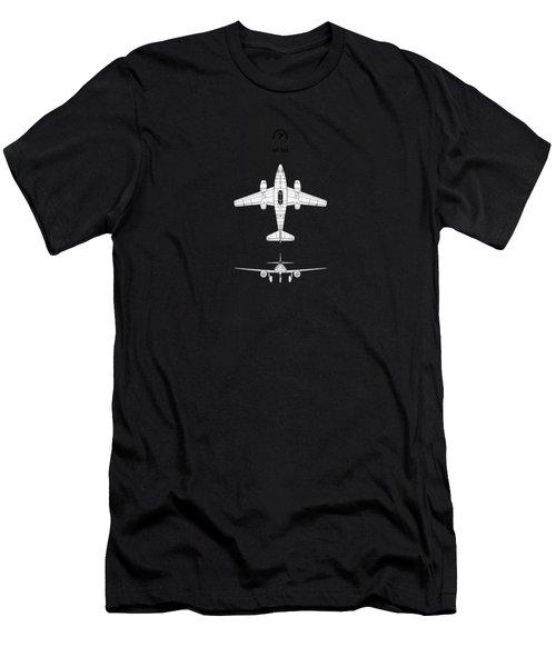 Messerschmitt Me 262 Men's T-Shirt (Athletic Fit)