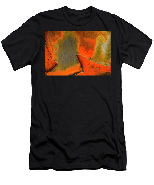 Men's T-Shirt (Athletic Fit) featuring the photograph Metal Abstract Three by David Waldrop