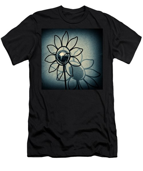 Metal Flower Men's T-Shirt (Athletic Fit)