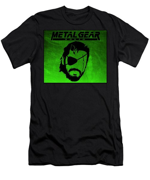 Metal Gear Solid Men's T-Shirt (Athletic Fit)