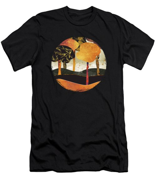 Metallic Forest Men's T-Shirt (Athletic Fit)