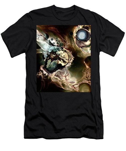 Metallic Nebula Men's T-Shirt (Athletic Fit)