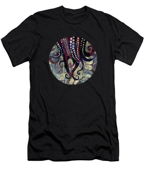 Metallic Ocean II Men's T-Shirt (Athletic Fit)