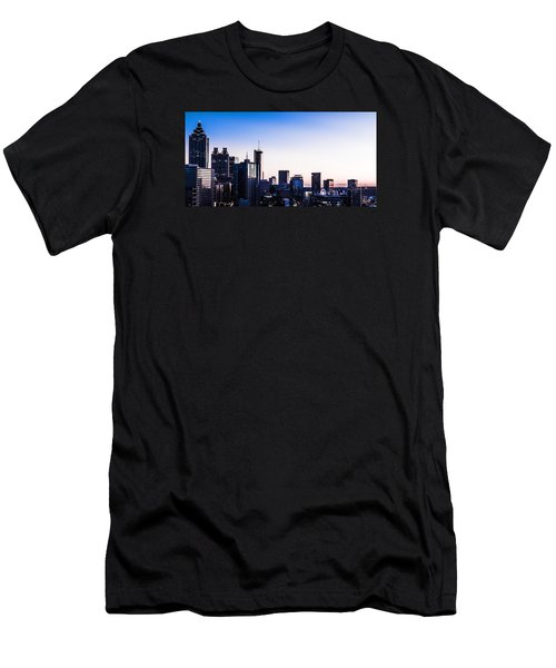 Metallic Sunset Men's T-Shirt (Athletic Fit)