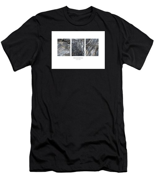 Men's T-Shirt (Athletic Fit) featuring the digital art Metamorphic by Julian Perry