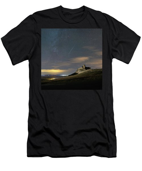 Meteors Above The Fortress Men's T-Shirt (Athletic Fit)