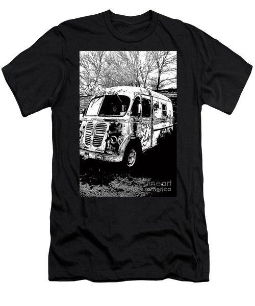 Metro Van Side Men's T-Shirt (Slim Fit) by Renie Rutten
