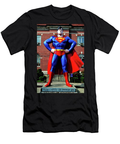 Metropolis - Home Of Superman 001 Men's T-Shirt (Athletic Fit)