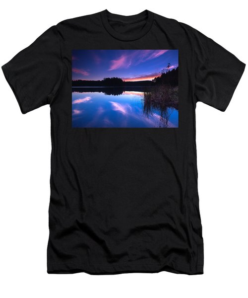 Mew Lake Sunset Men's T-Shirt (Athletic Fit)